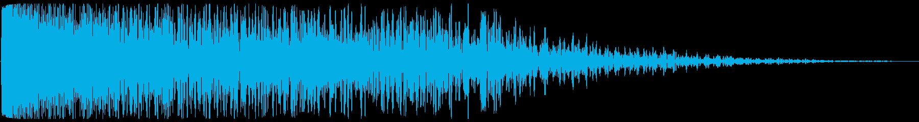 チューン(発射系の音)長めの再生済みの波形