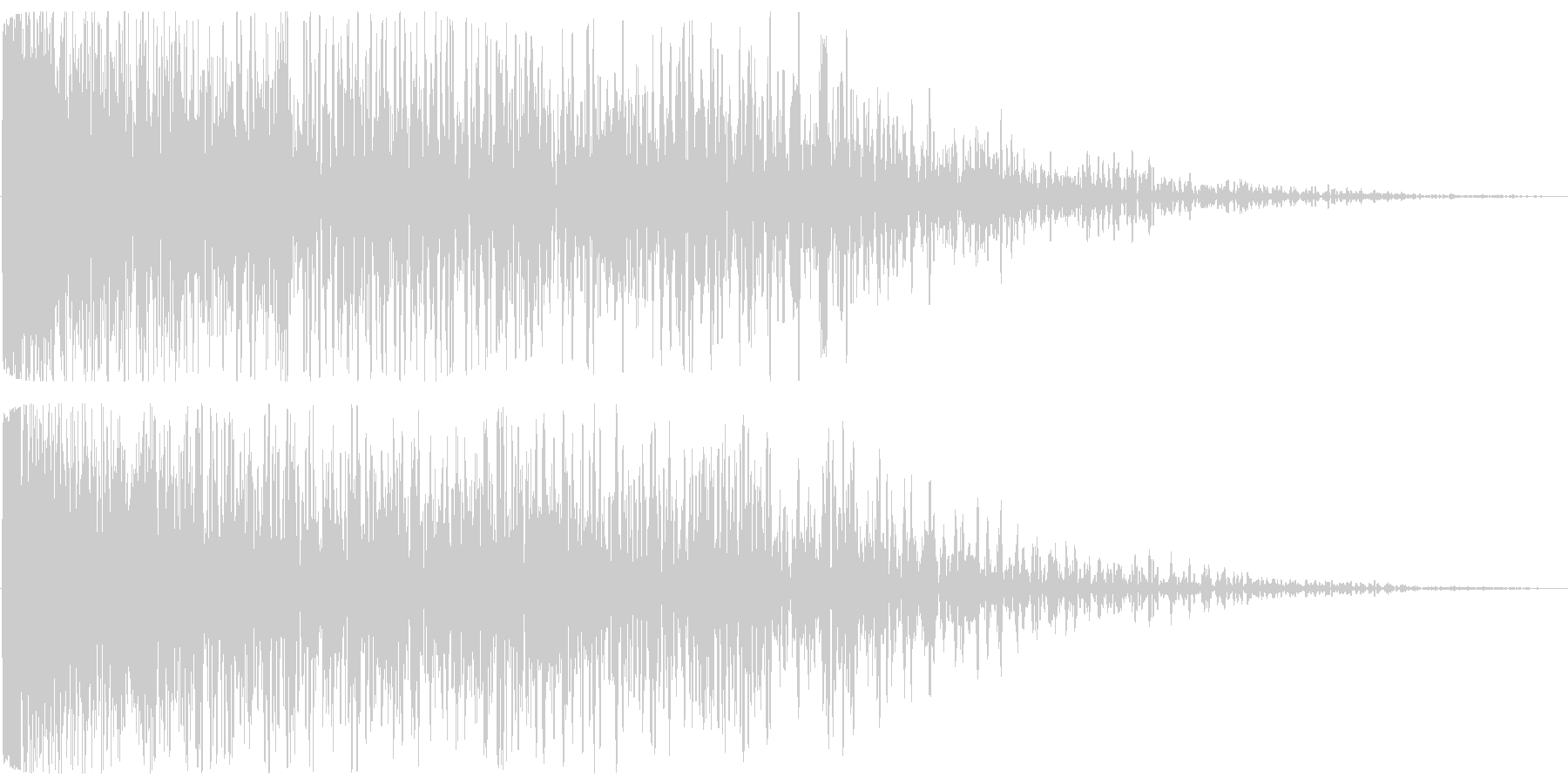 チューン(発射系の音)長めの未再生の波形