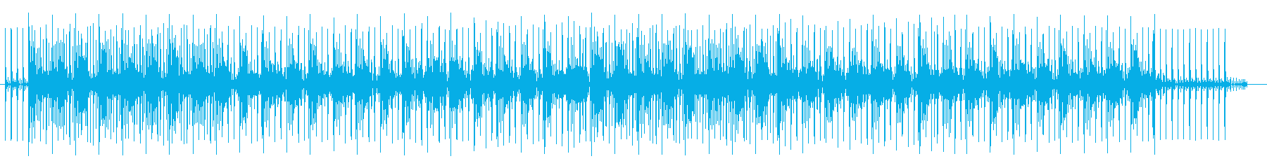 神秘的でミステリアスなシンセサウンドの再生済みの波形