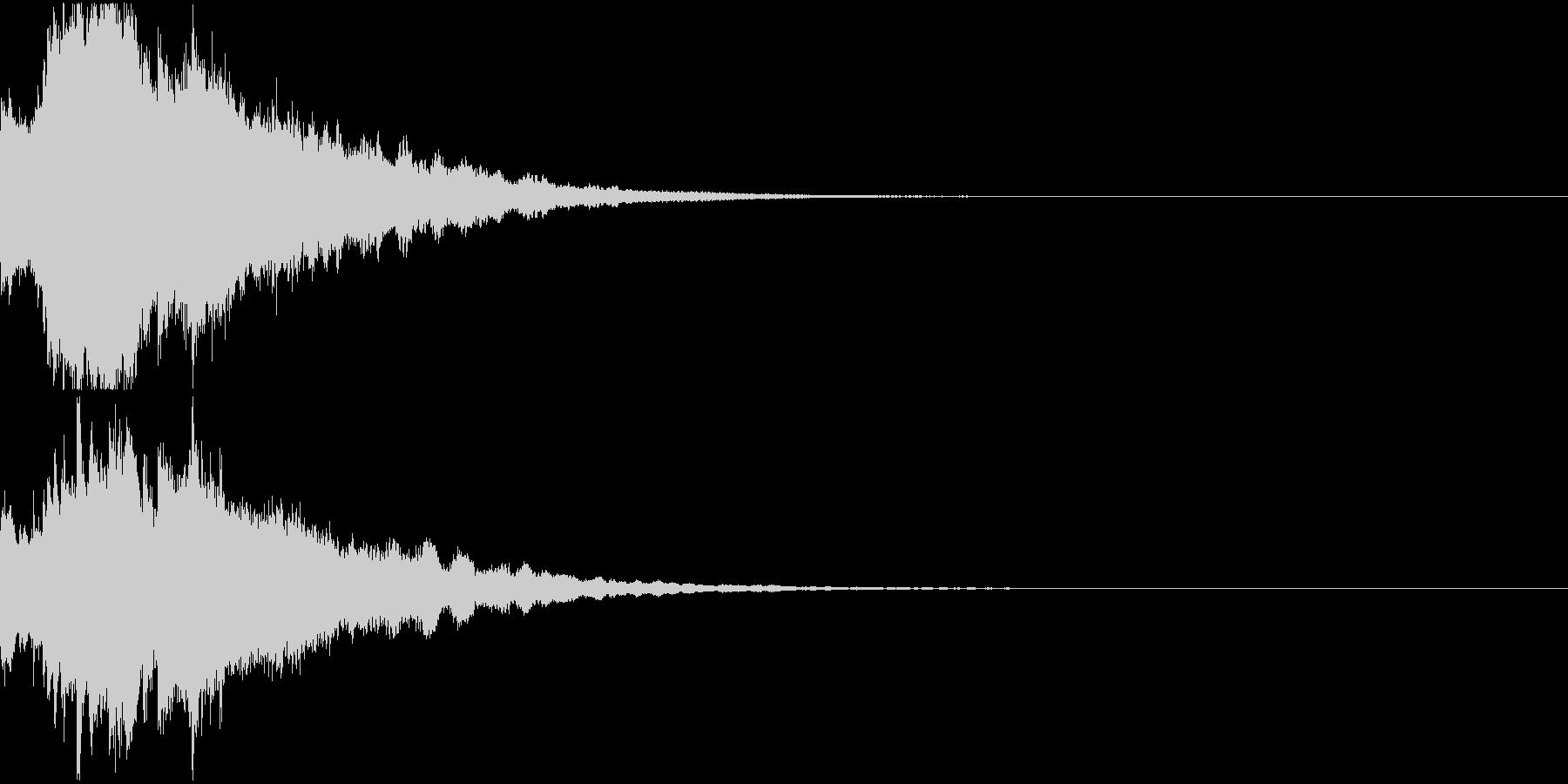 クリスマス ジングルベル キラキラ 12の未再生の波形