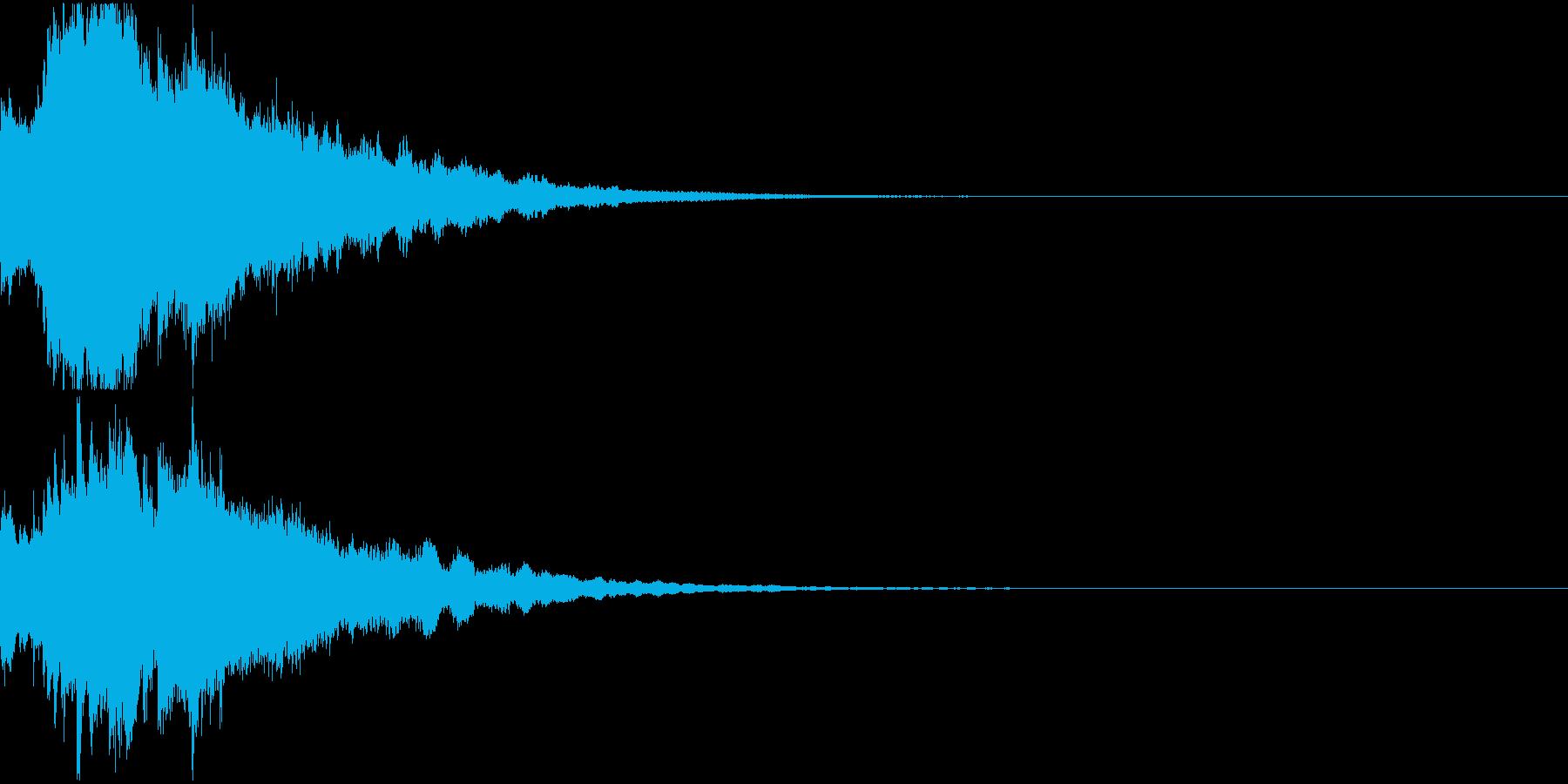クリスマス ジングルベル キラキラ 12の再生済みの波形