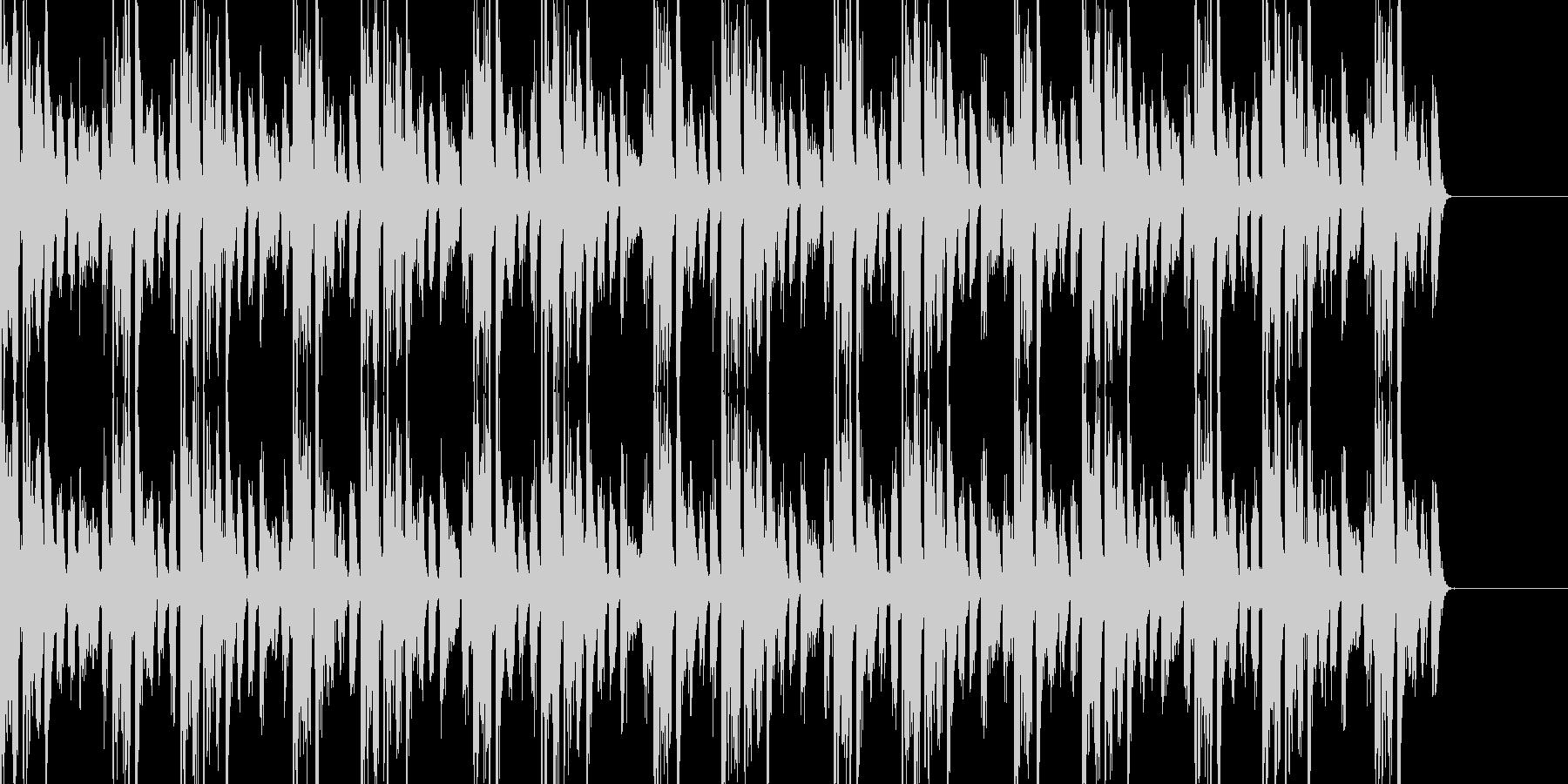 トランステイストのBGMの未再生の波形