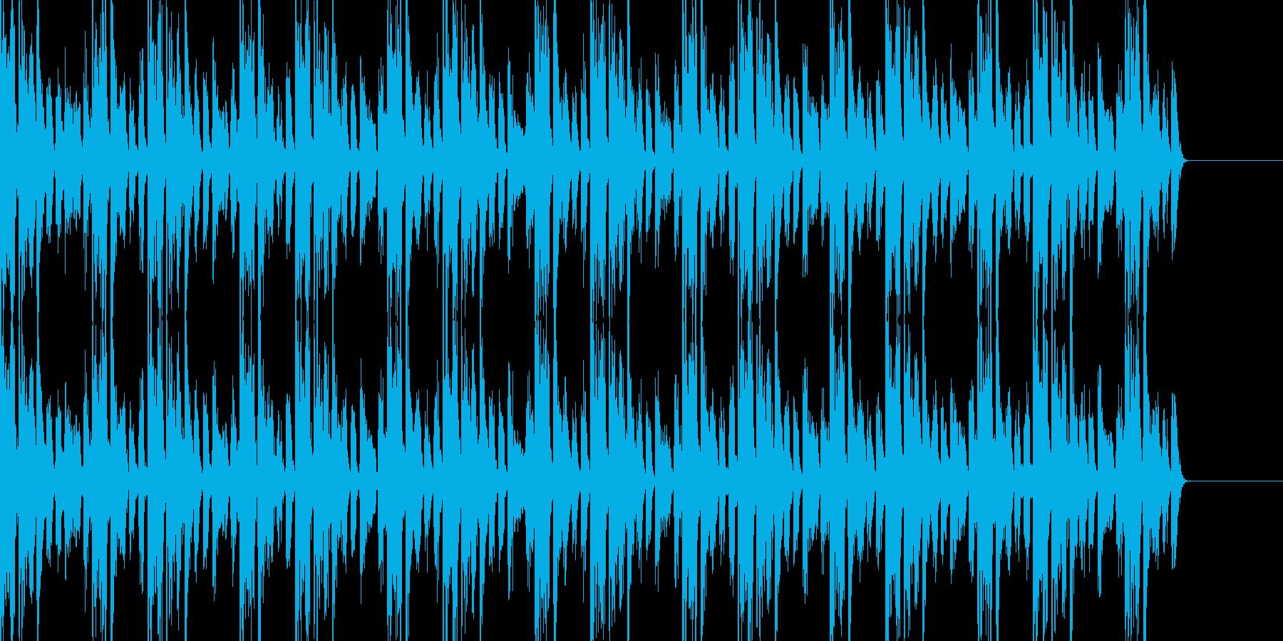 トランステイストのBGMの再生済みの波形