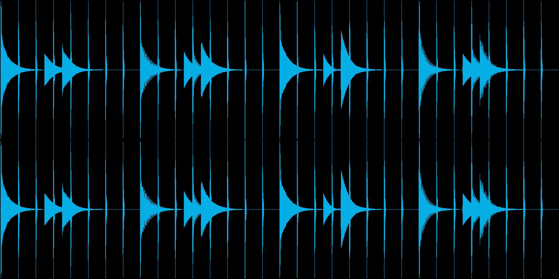 ほのぼのしたシンプルヒーリングエレクトロの再生済みの波形