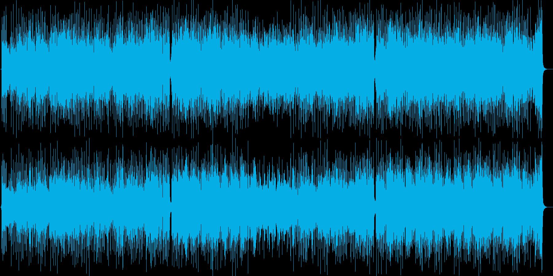 爽やかマリン風ギターシンセポップの再生済みの波形