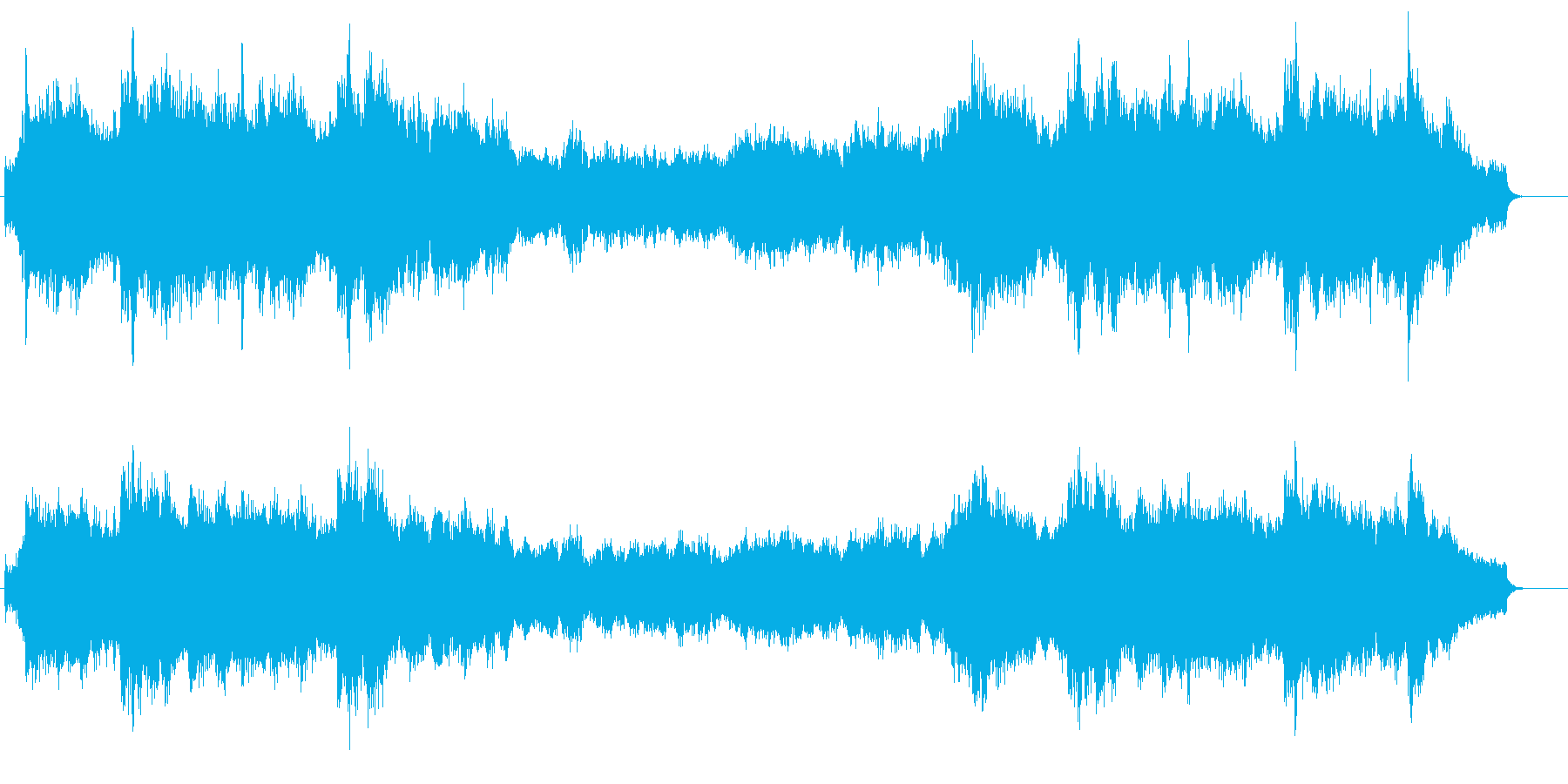 オーケストレーションによる珠玉の名画音楽の再生済みの波形
