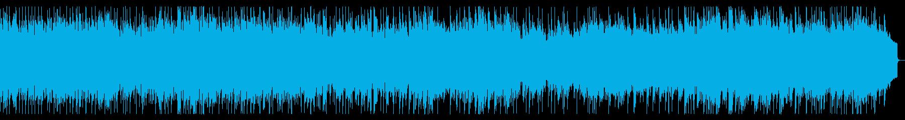 リフ主体のメタル 戦闘曲 激しい曲の再生済みの波形