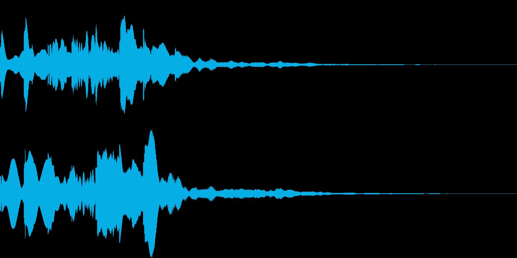 News ニュース番組のトピックSE 4の再生済みの波形