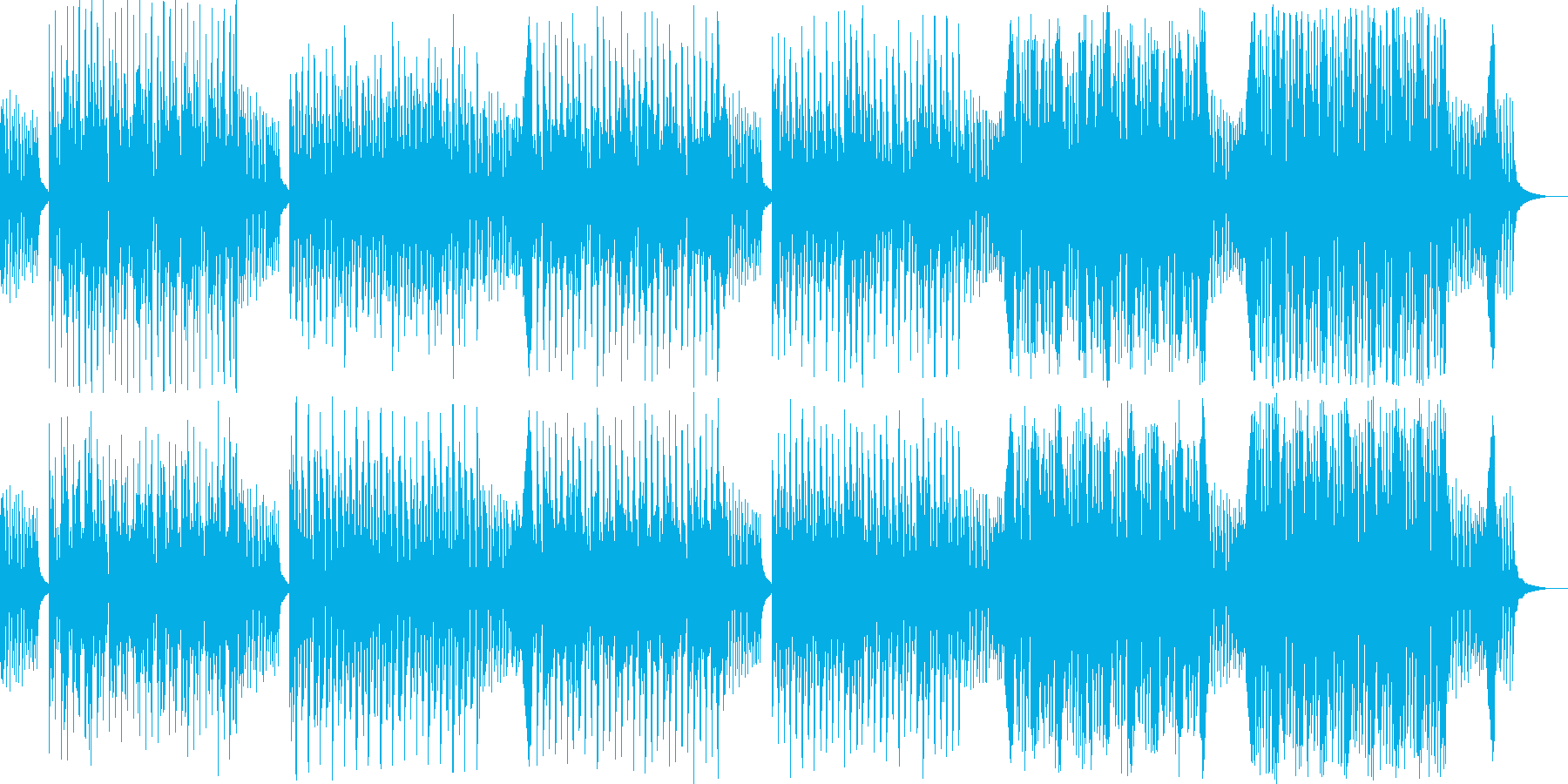 ゲーム 走る 戦う レトロの再生済みの波形