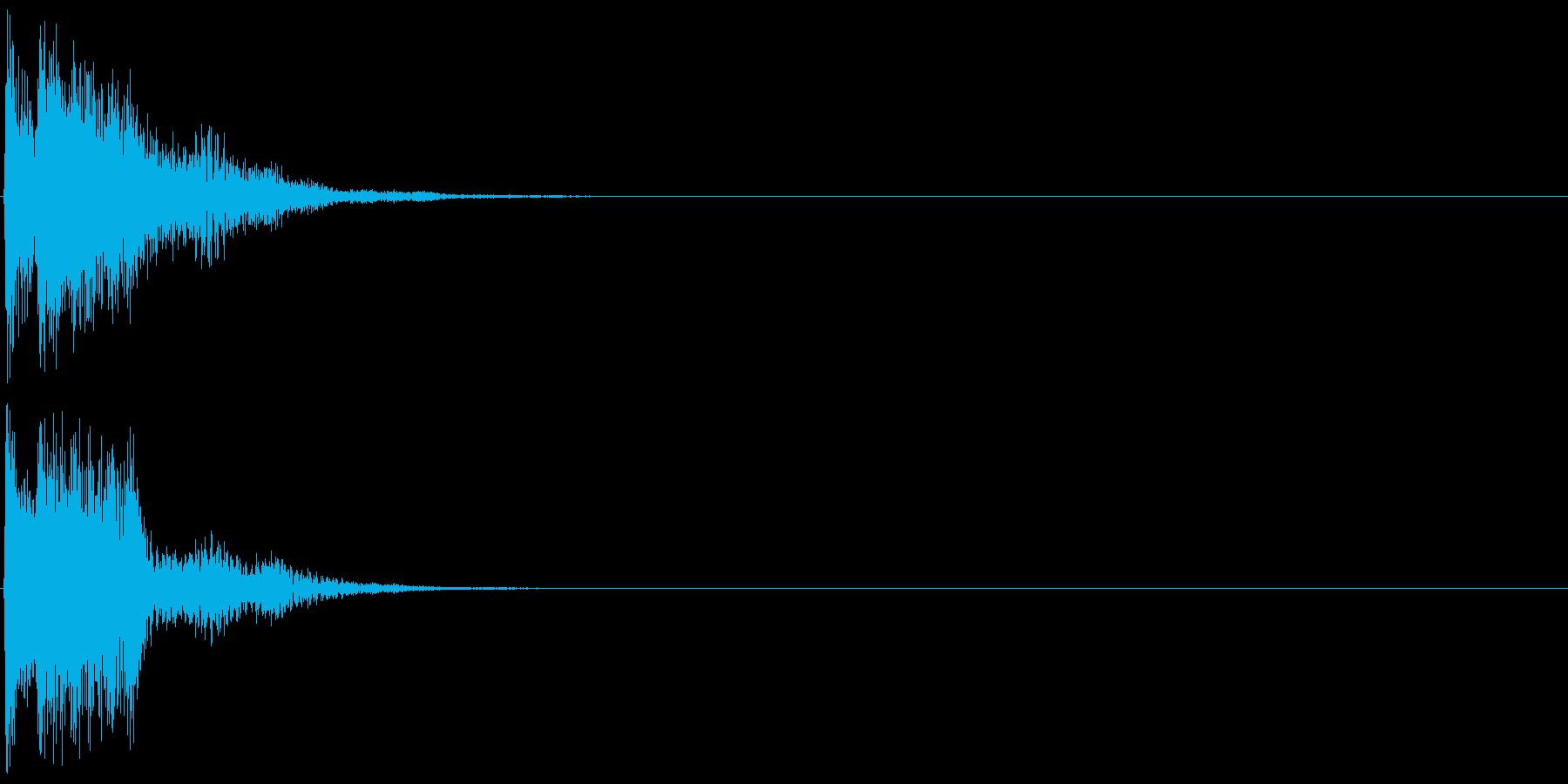 キラン(決定音、起動音、ゲームアプリ)の再生済みの波形