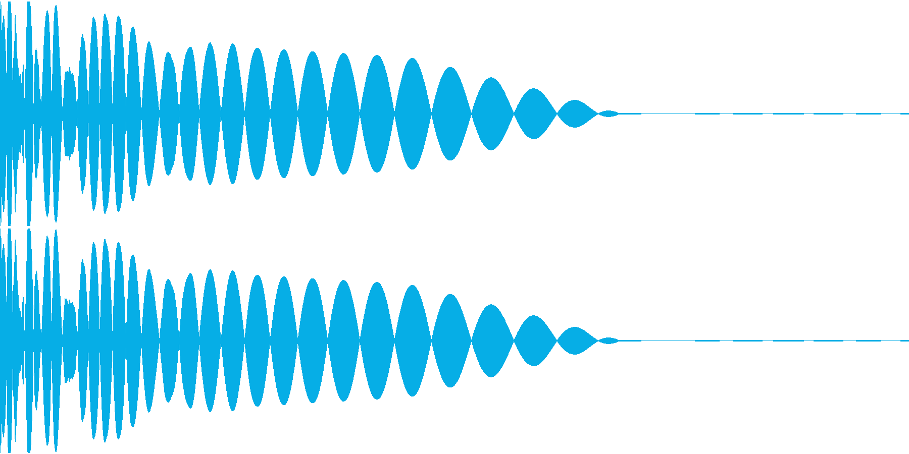 DTM Kick 5 オリジナル音源の再生済みの波形