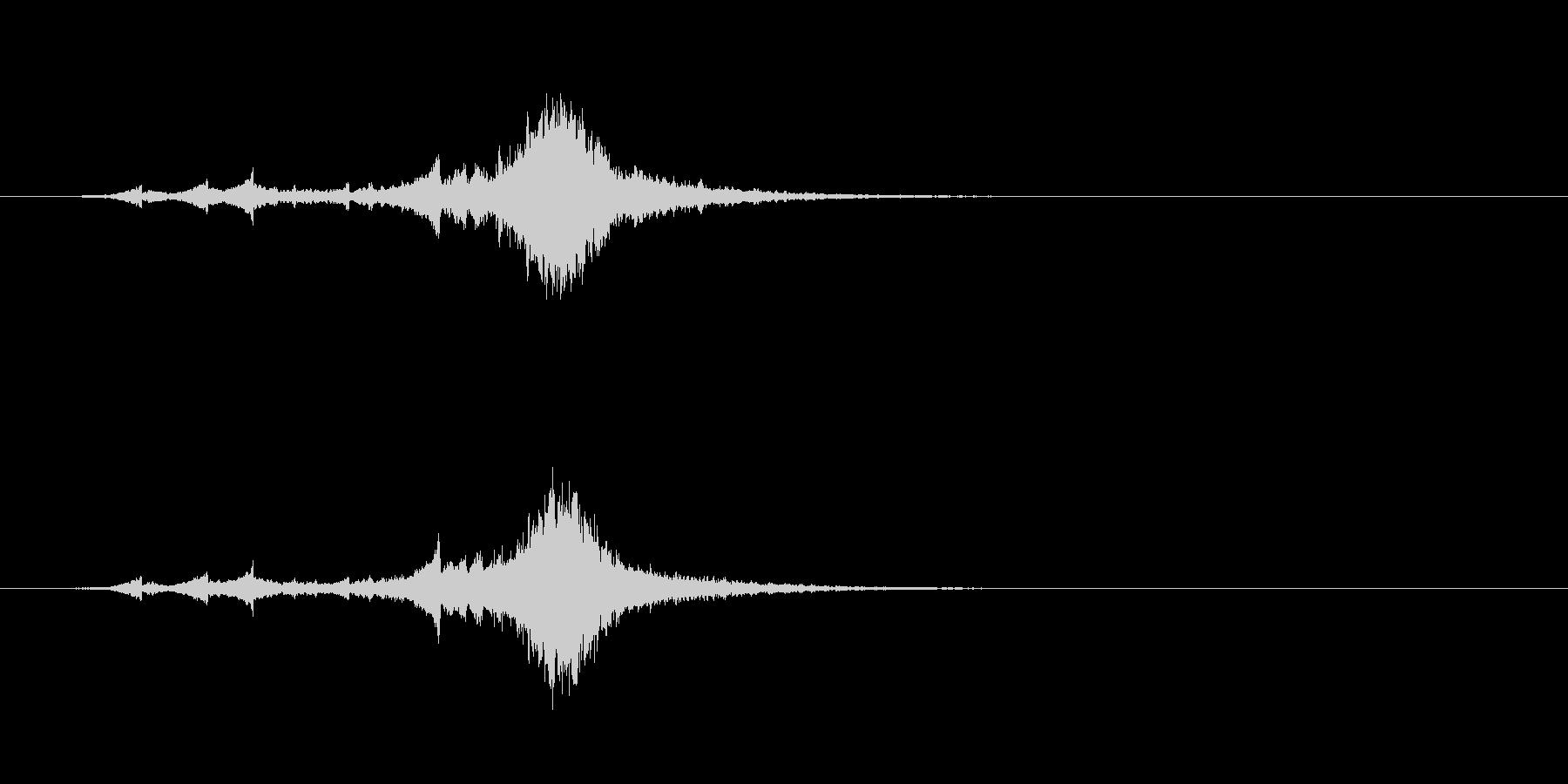 シャリーンというベルの音の未再生の波形