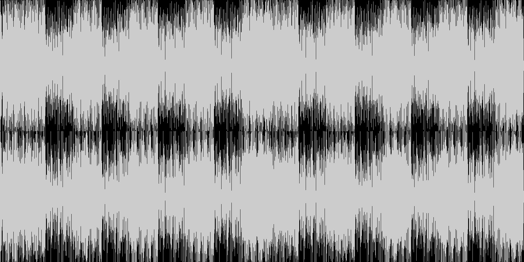 サックスロックファンクニュース配信動画の未再生の波形