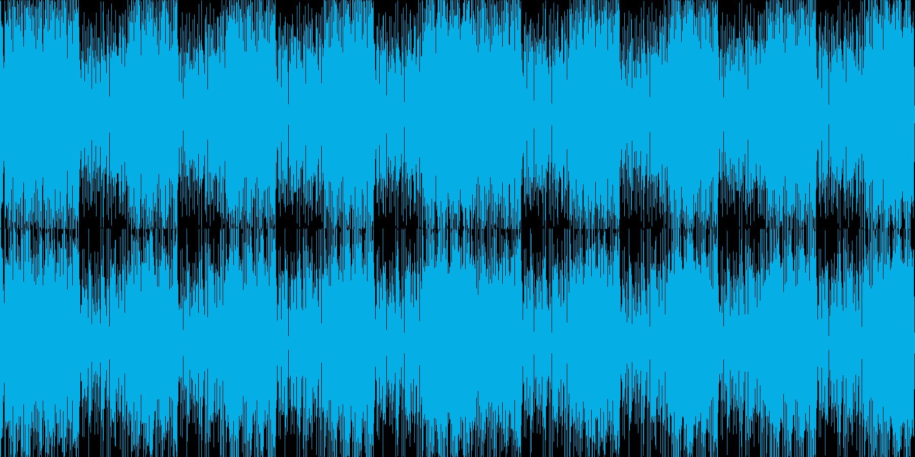 サックスロックファンクニュース配信動画の再生済みの波形