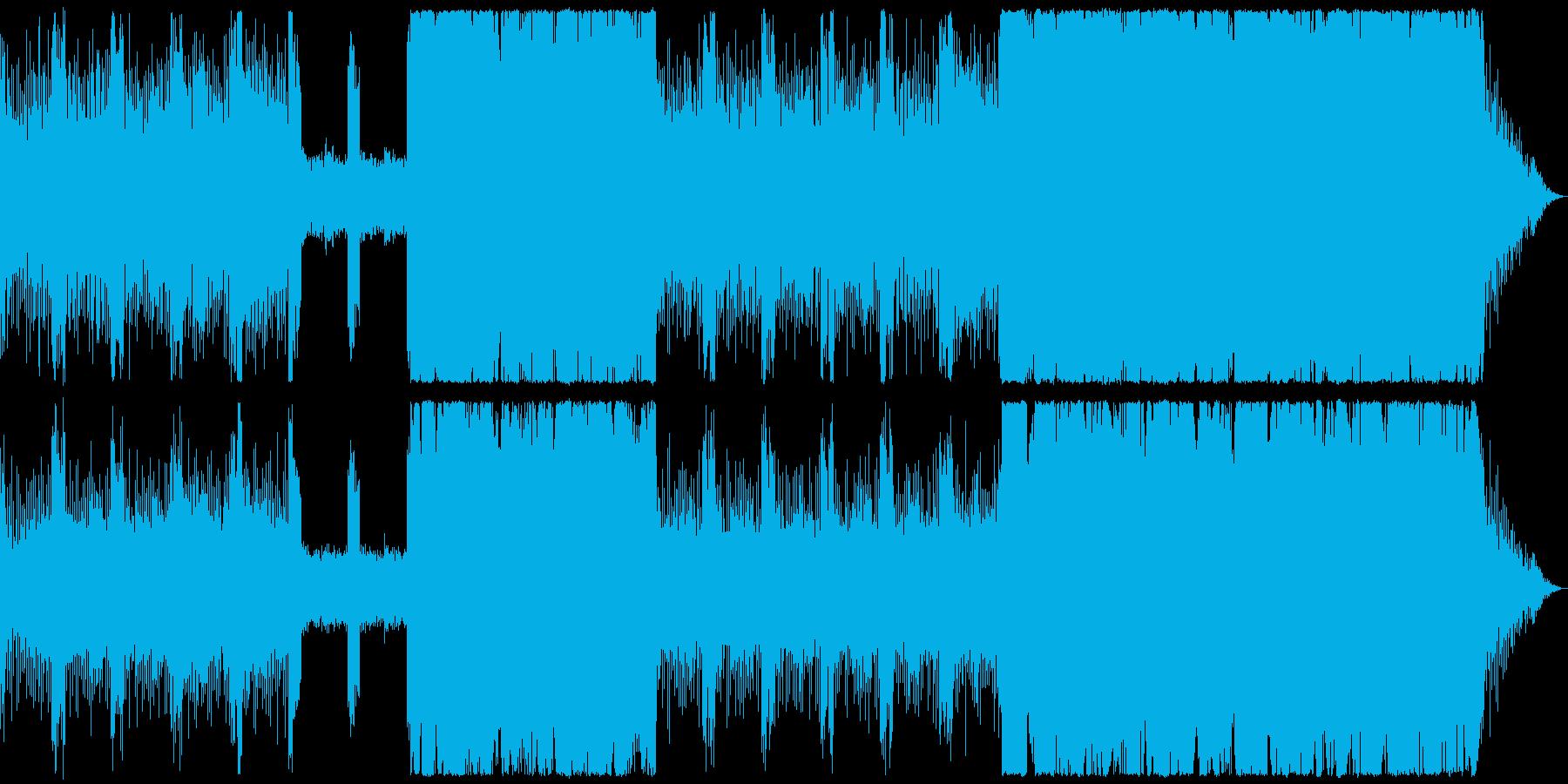 幻想的な曲。の再生済みの波形