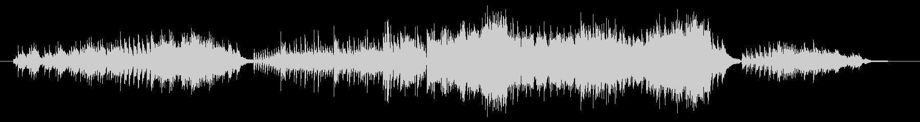 ピアノ、連弾曲で「秋」のイメージです。…の未再生の波形