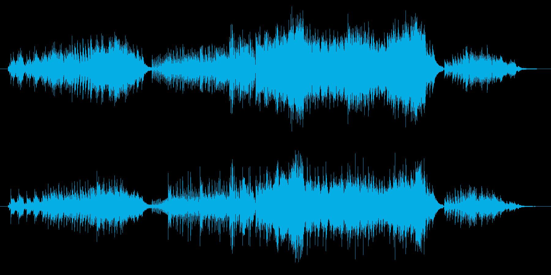 ピアノ、連弾曲で「秋」のイメージです。…の再生済みの波形