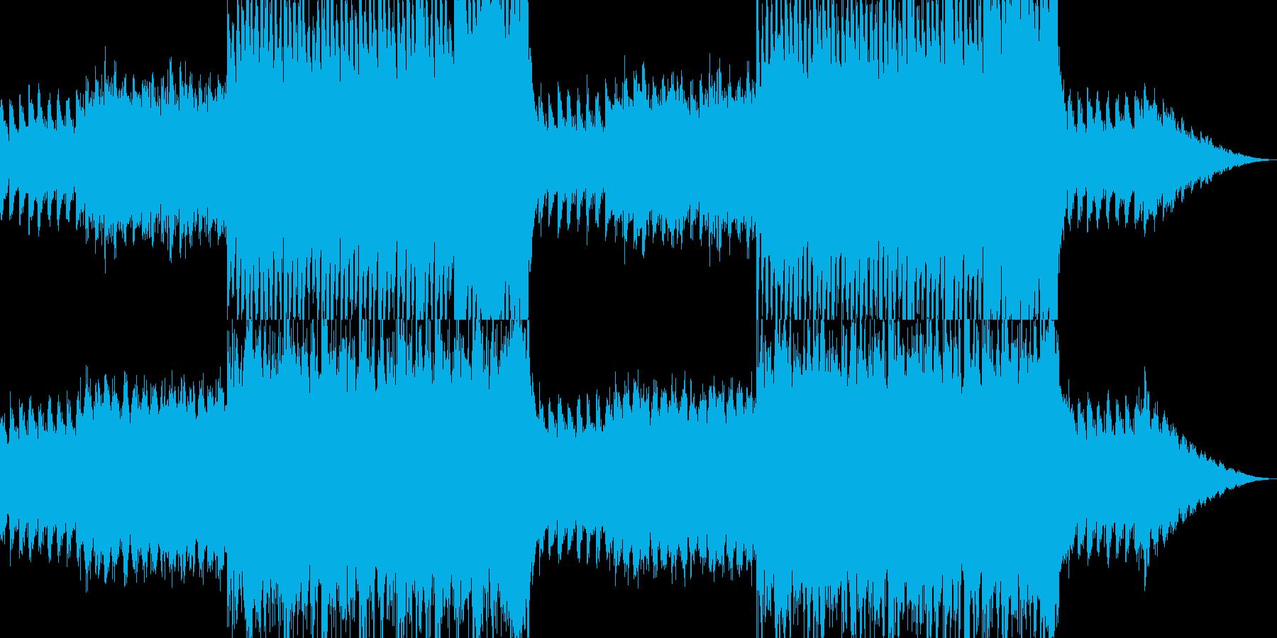 【恐怖音楽】闇の支配者が動き出す・・・の再生済みの波形