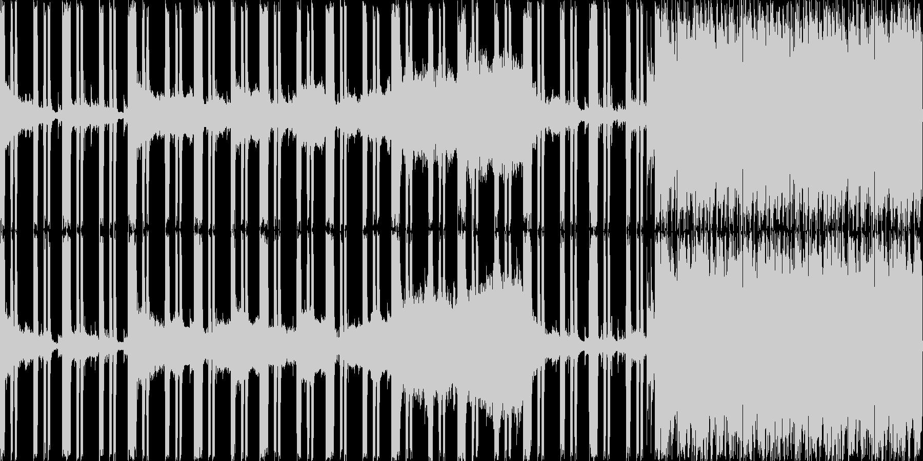 ダンジョンのBGMなど・陰鬱さと暗くジ…の未再生の波形