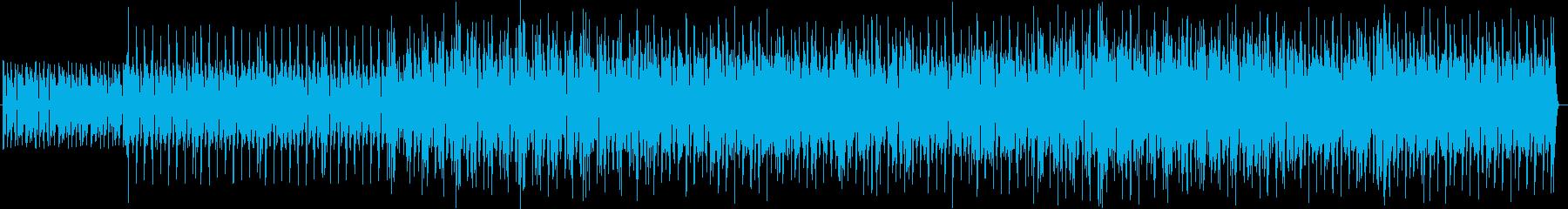 何かにチャレンジするときのBGMの再生済みの波形