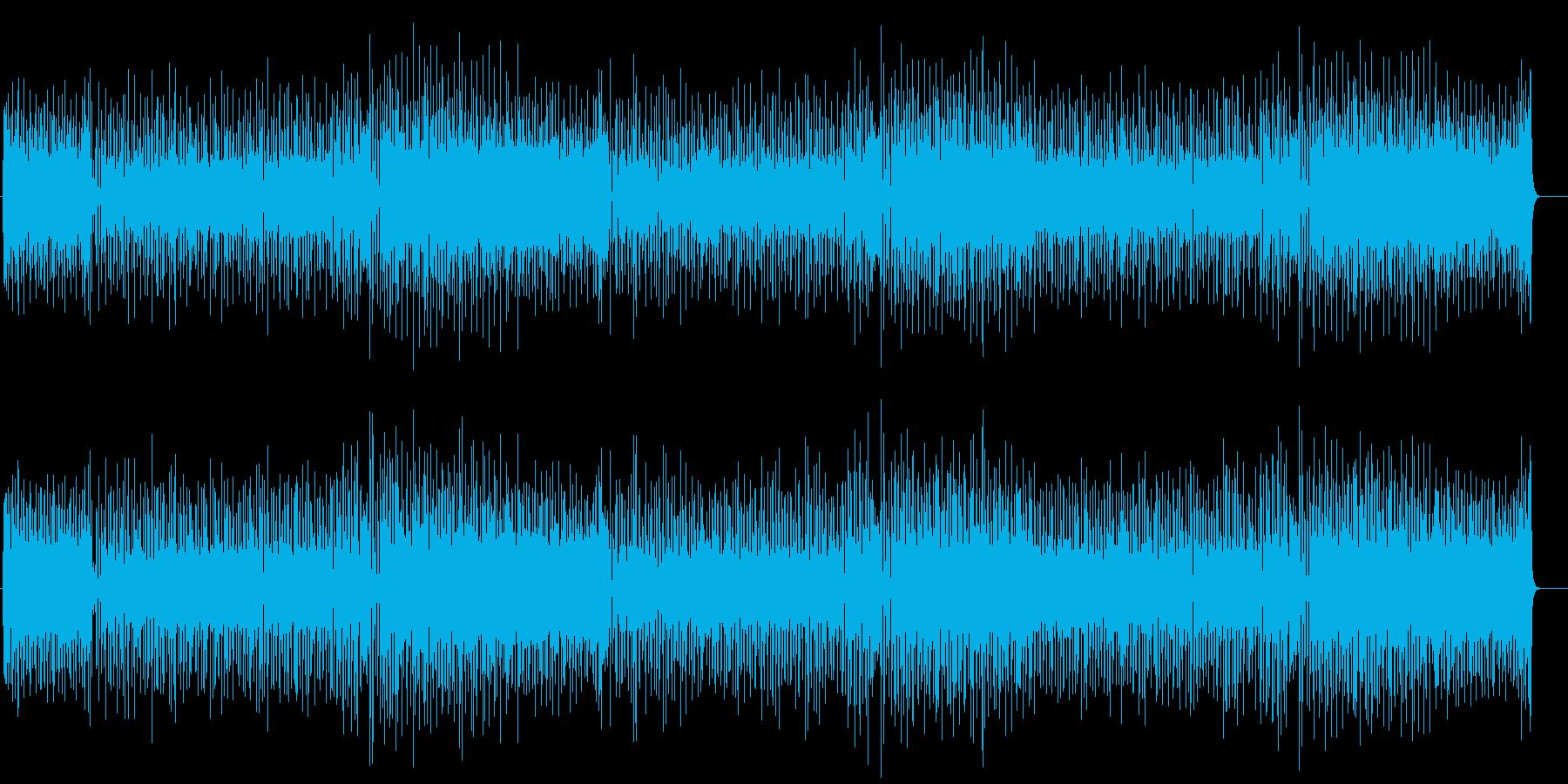 小気味良いアンサンブルのコテンポラリーの再生済みの波形