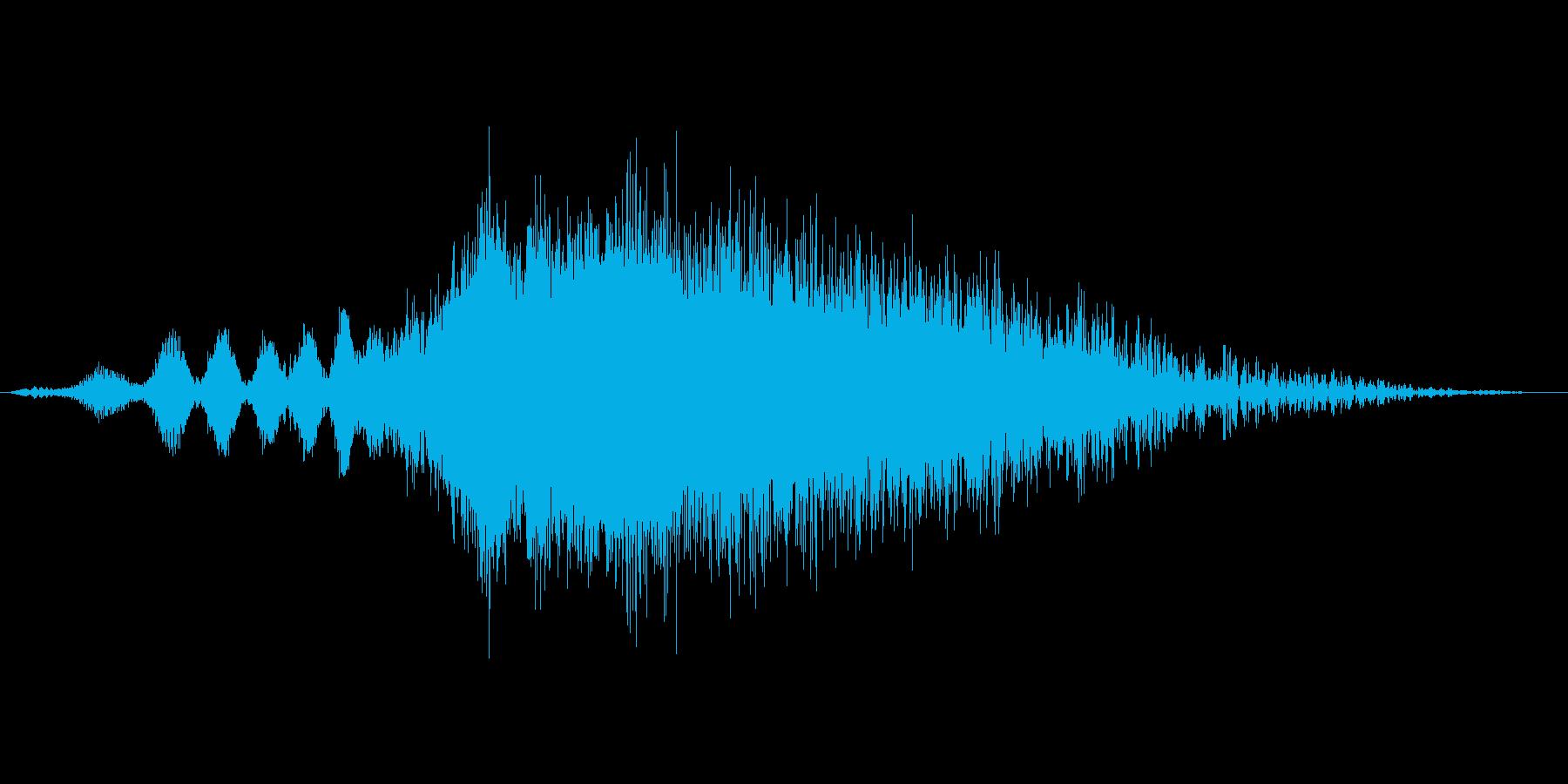 ビーム発射音。チャージから発射まで。の再生済みの波形