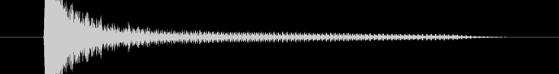 ベョーンの未再生の波形