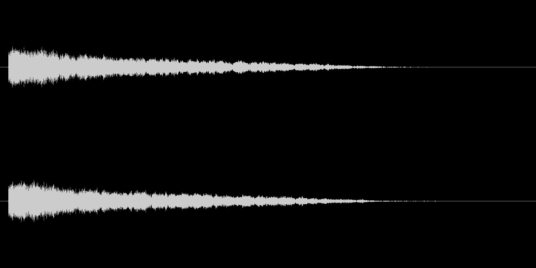 【ネガティブ03-1】の未再生の波形