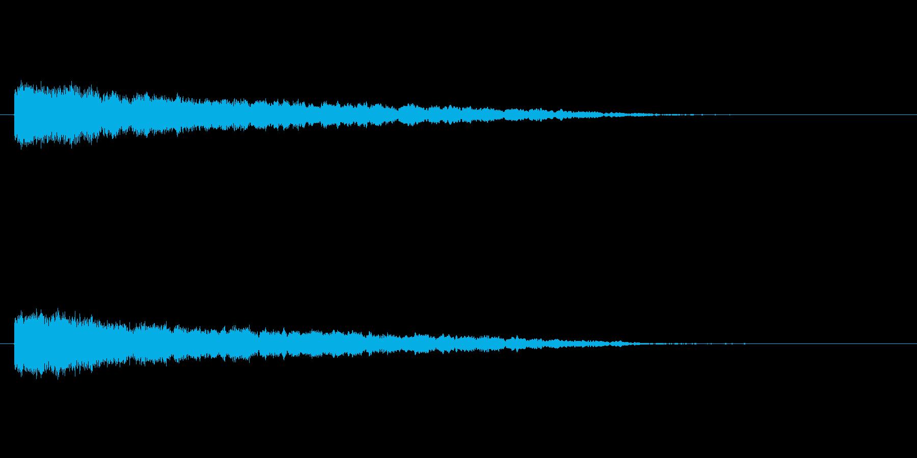 【ネガティブ03-1】の再生済みの波形