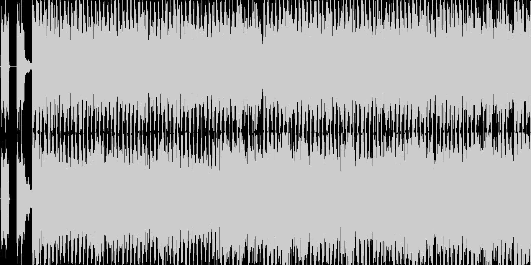 激しくメロディアスなロック・AOの未再生の波形