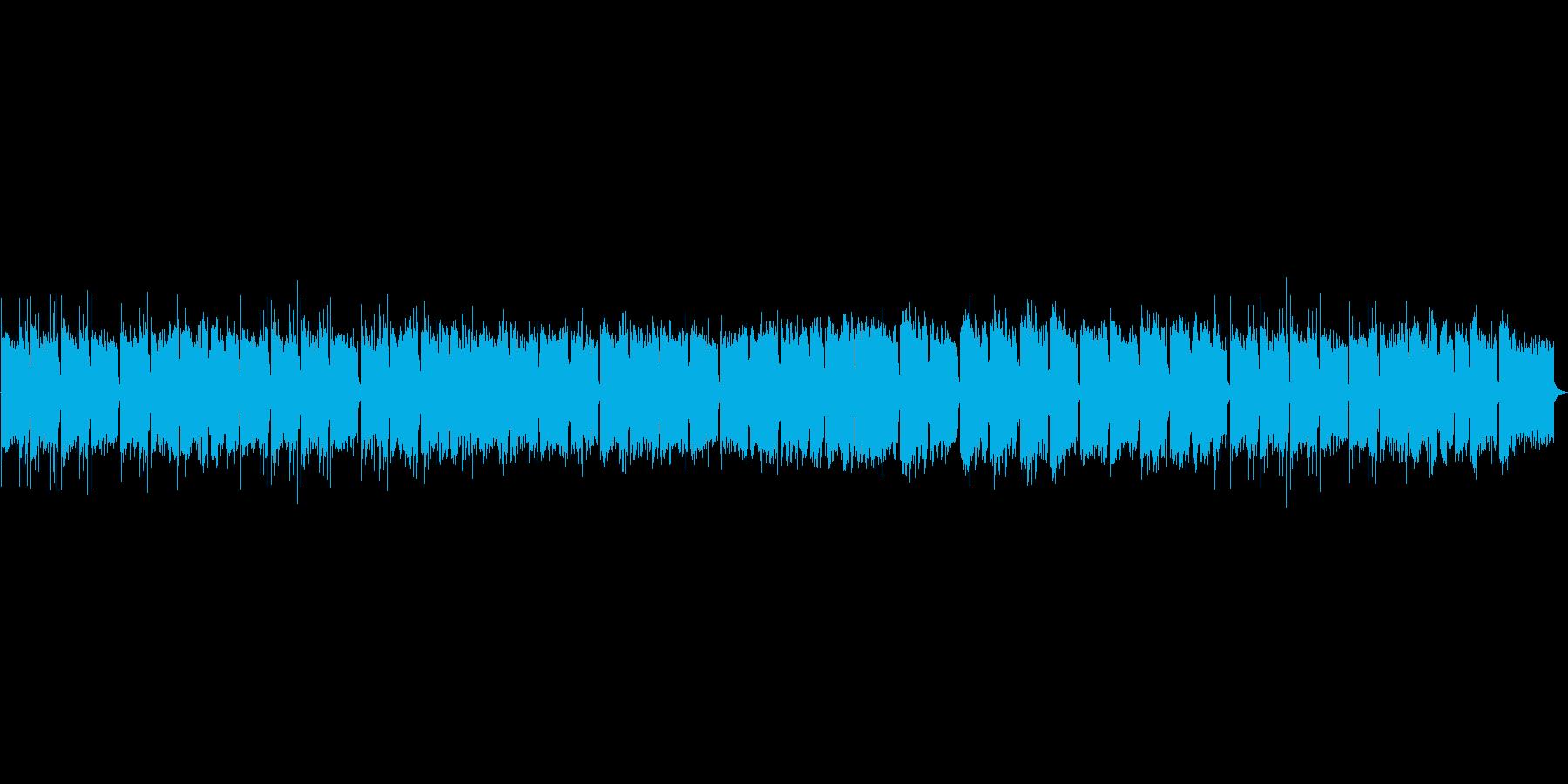 懸命に前向きになろうとイメージした曲の再生済みの波形