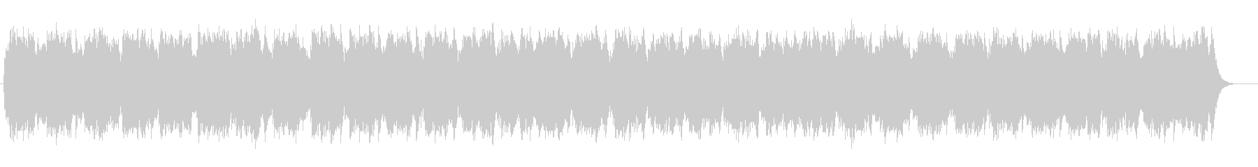 シンセサイザー彩る安らぎのミュージックの未再生の波形