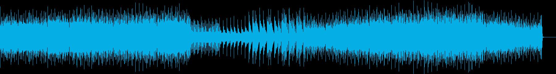 【バトル向き】疾走感のあるテクノロックの再生済みの波形