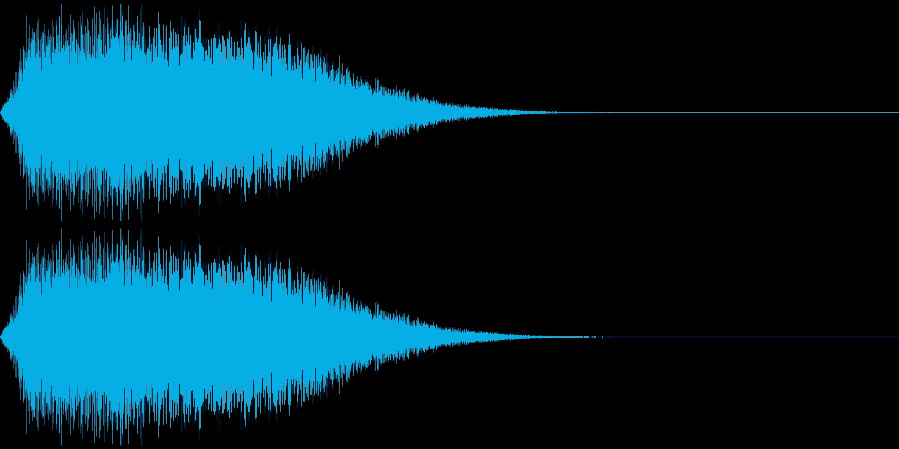 ジェット音、ミサイルの軌跡などをイメージの再生済みの波形