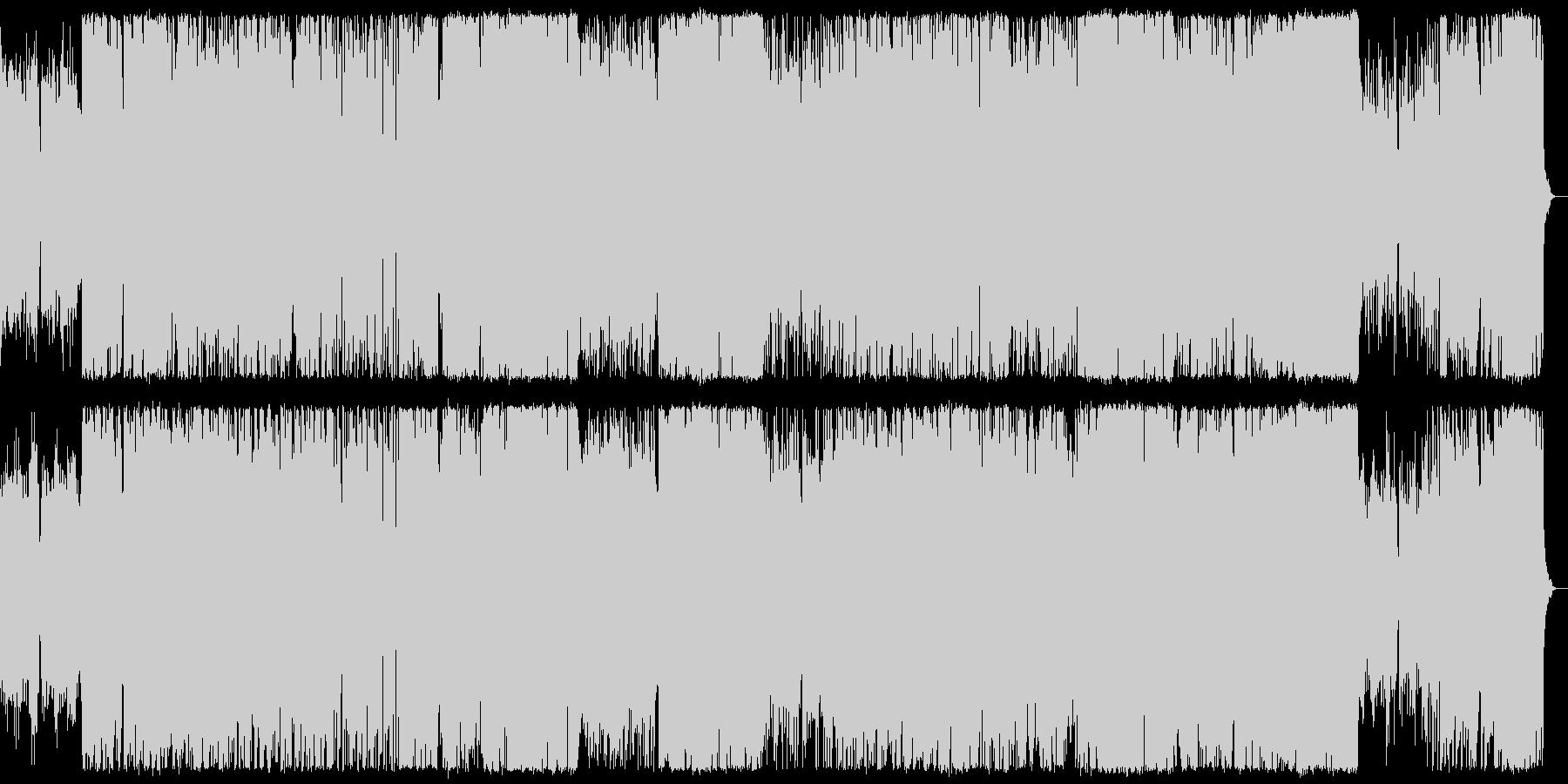 ポップにミステリアスなハロウィンBGMの未再生の波形