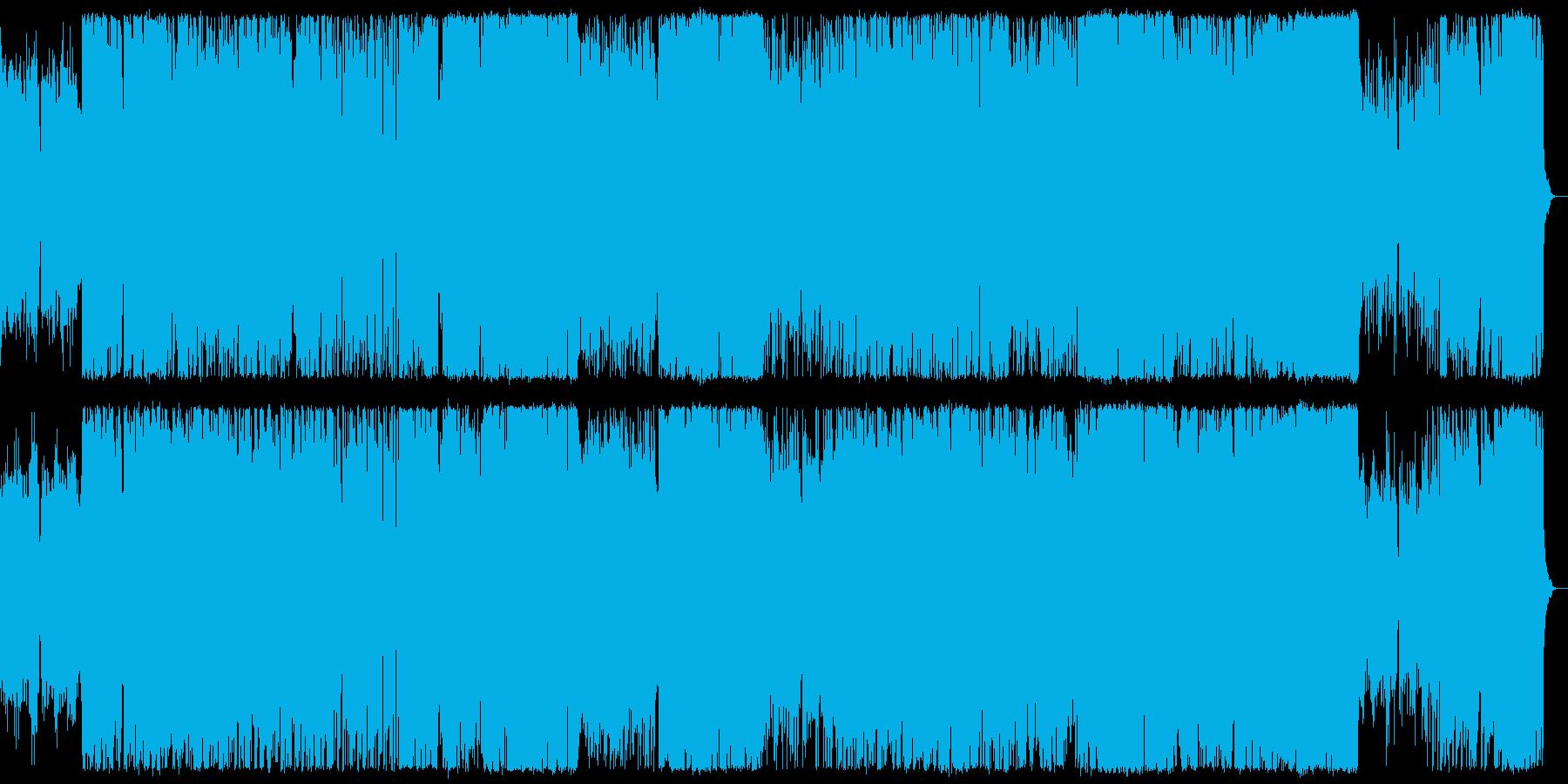ポップにミステリアスなハロウィンBGMの再生済みの波形