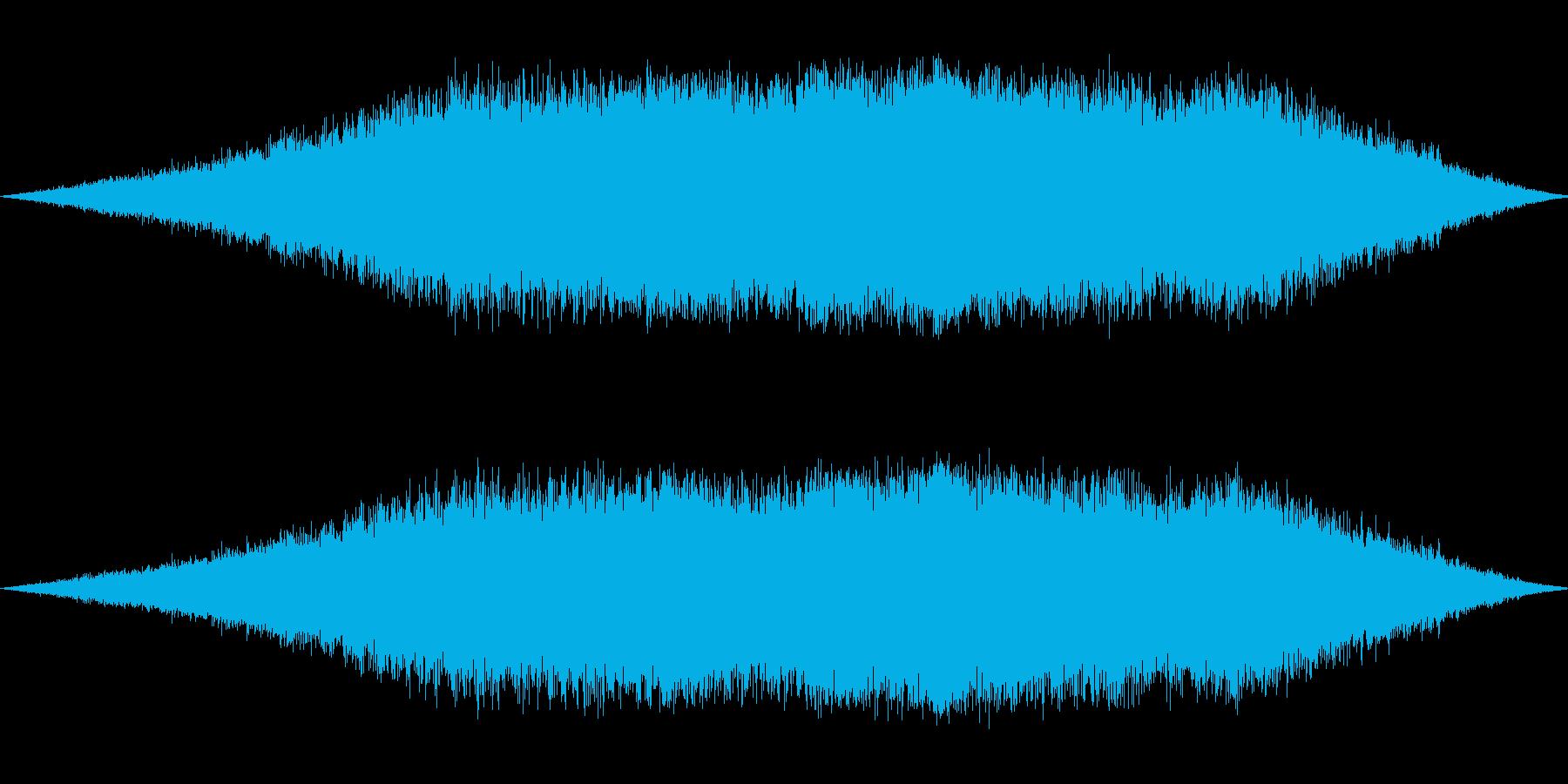 ガスが噴き出すの再生済みの波形