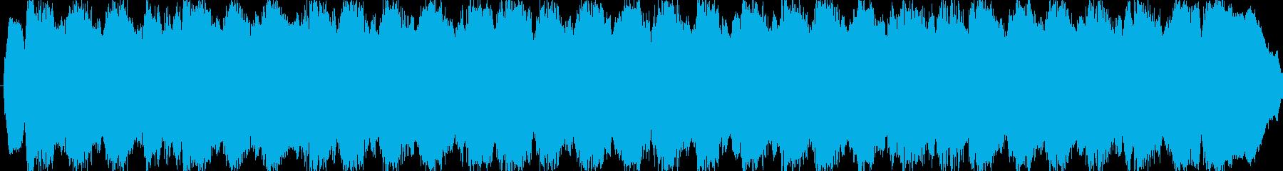 パイプオルガン バッハ風 三声の再生済みの波形