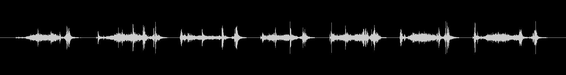 【本03-3(めくる)】の未再生の波形