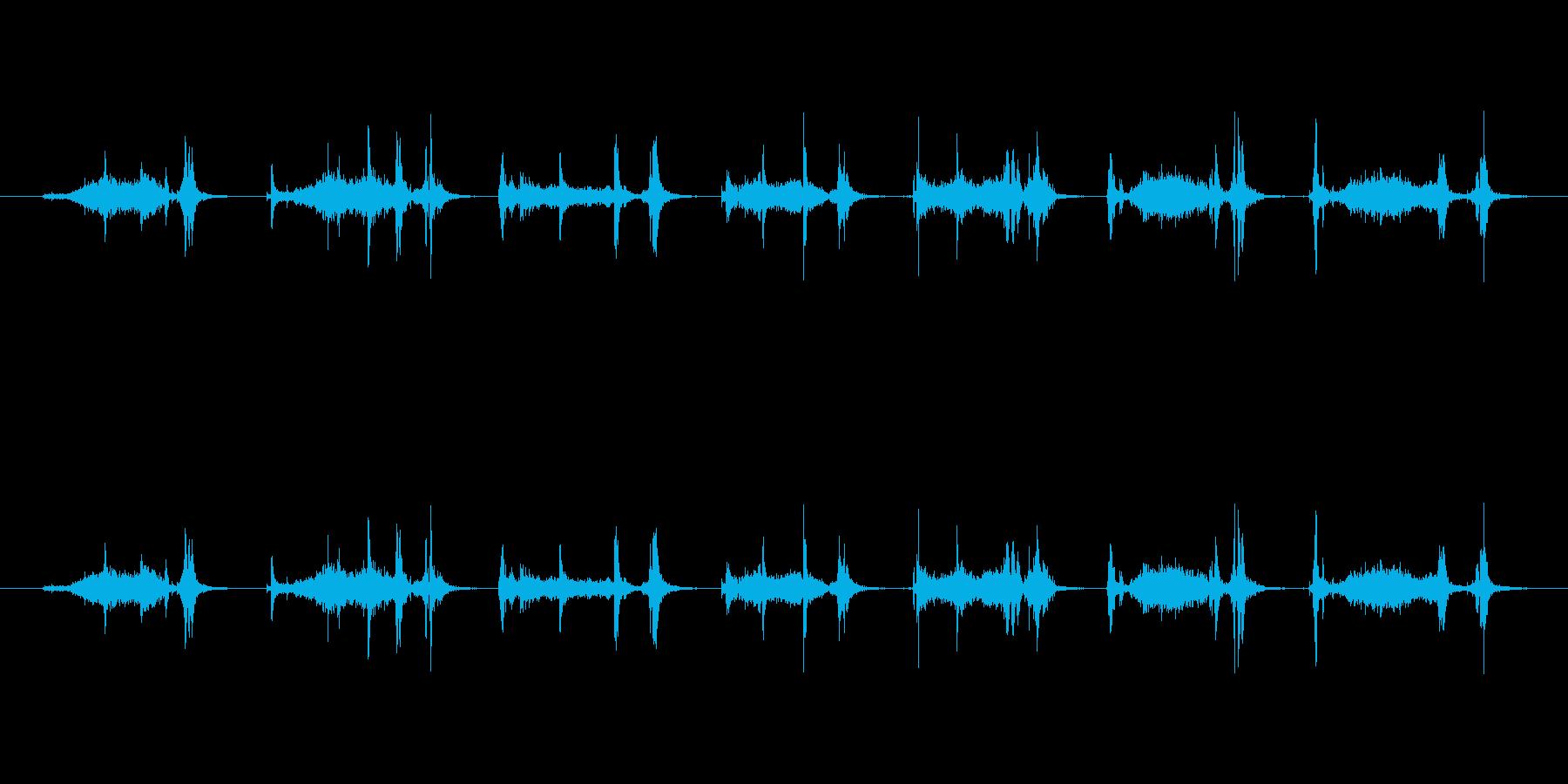 【本03-3(めくる)】の再生済みの波形