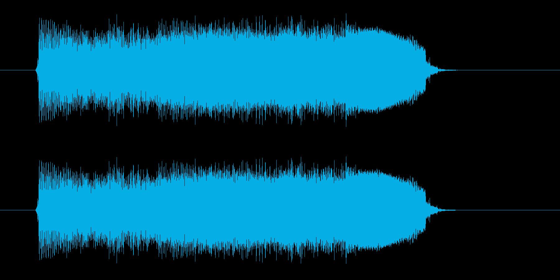 ジャーンジャーン(ギター、ベース)の再生済みの波形