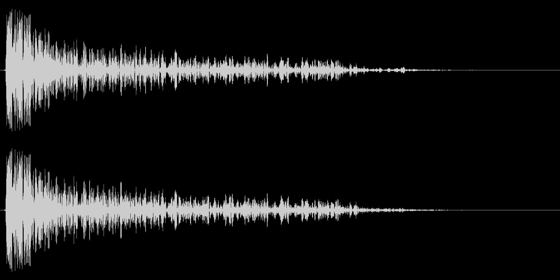 SFバズーカ砲の効果音、バズーカ砲、キ…の未再生の波形