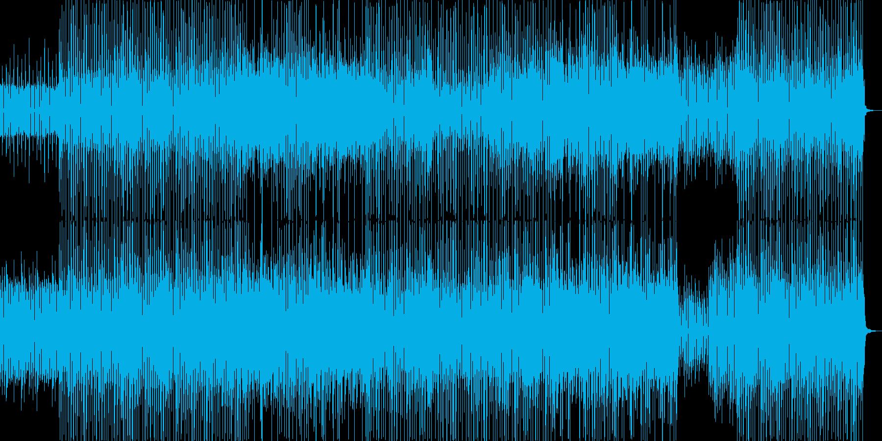 CMショーリールをイメージしたロックですの再生済みの波形