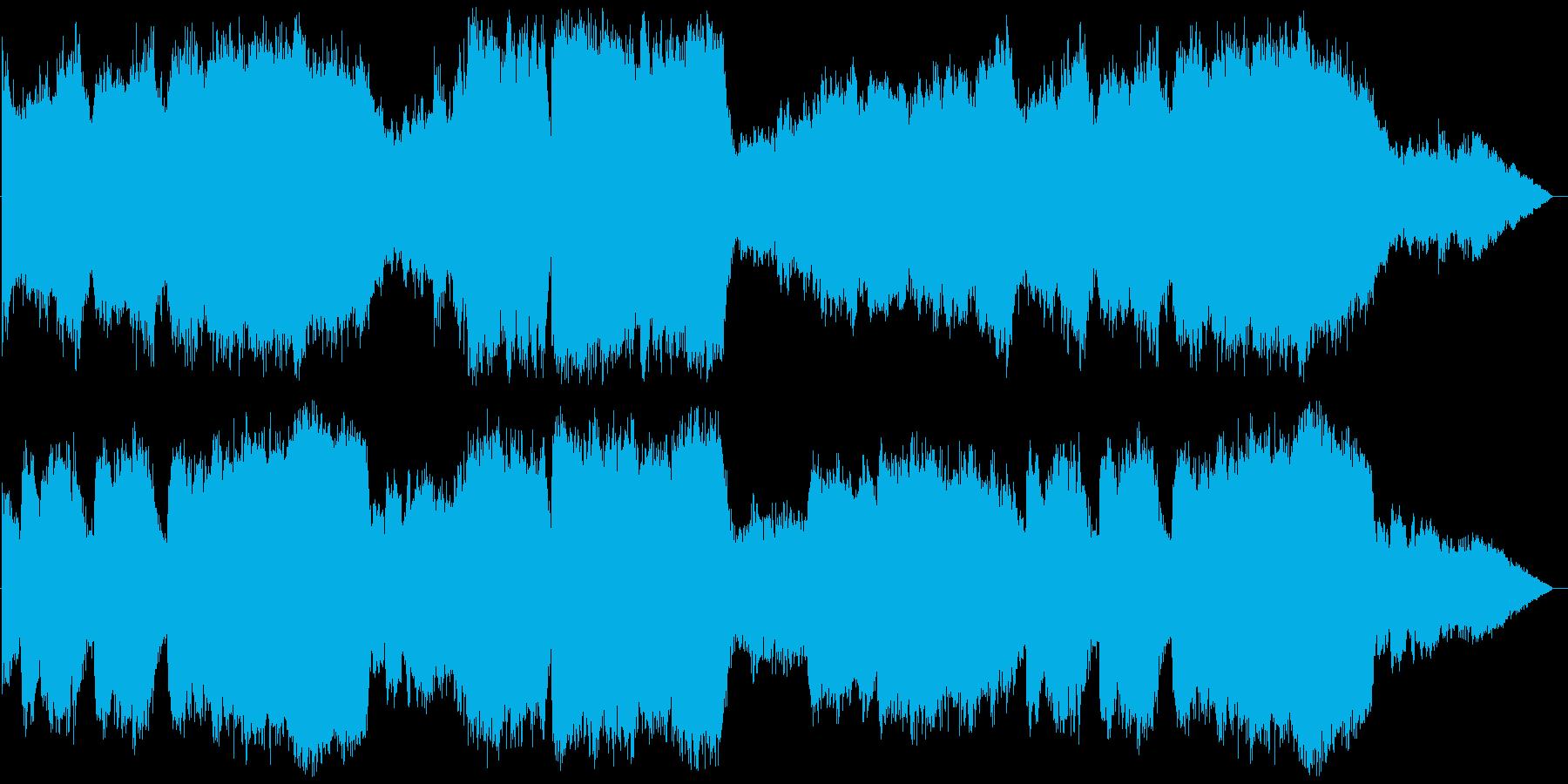 降臨 パイプオルガンの再生済みの波形