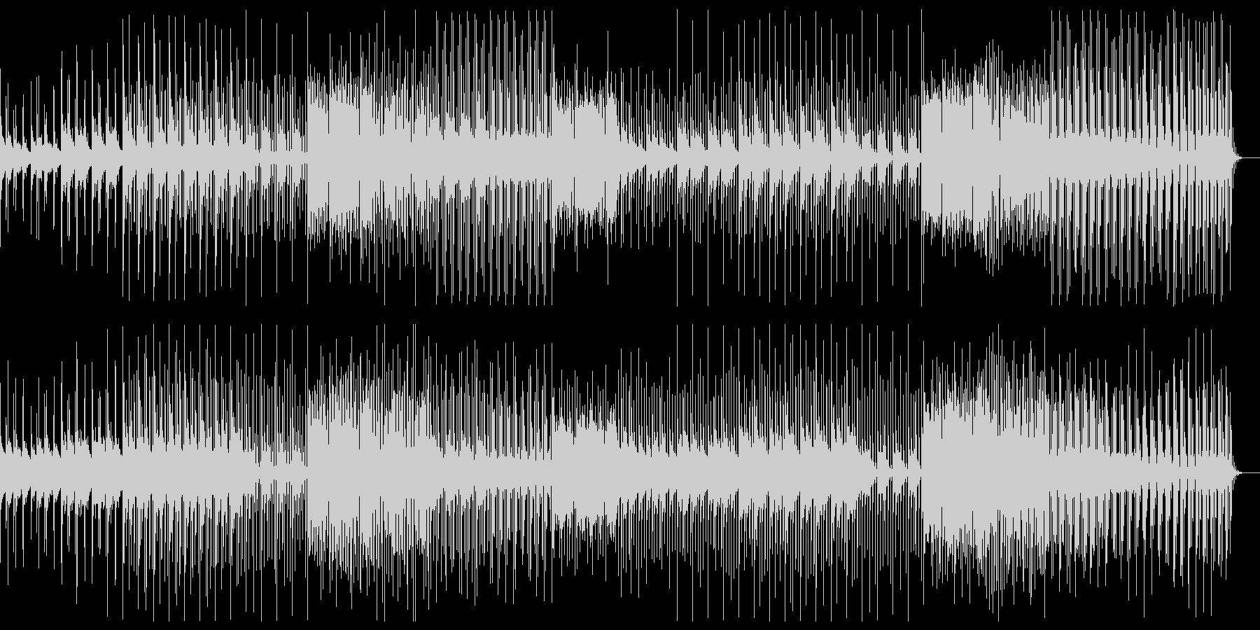 スチームパンクな印象のシネマティックな曲の未再生の波形