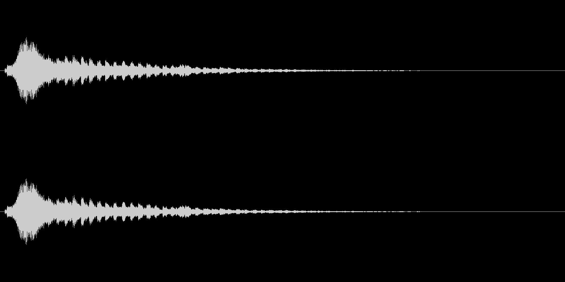 【ショートブリッジ11-1】の未再生の波形