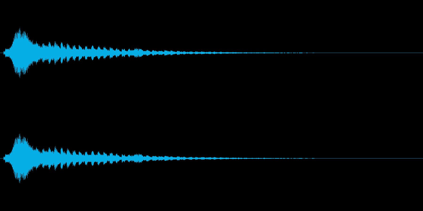 【ショートブリッジ11-1】の再生済みの波形