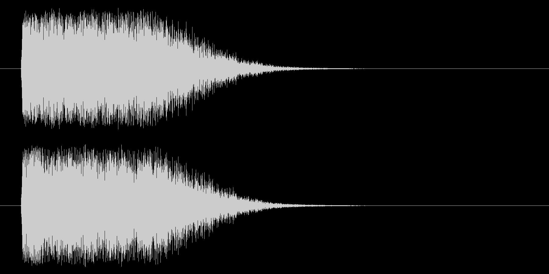 光りインパクト(m0288)の未再生の波形