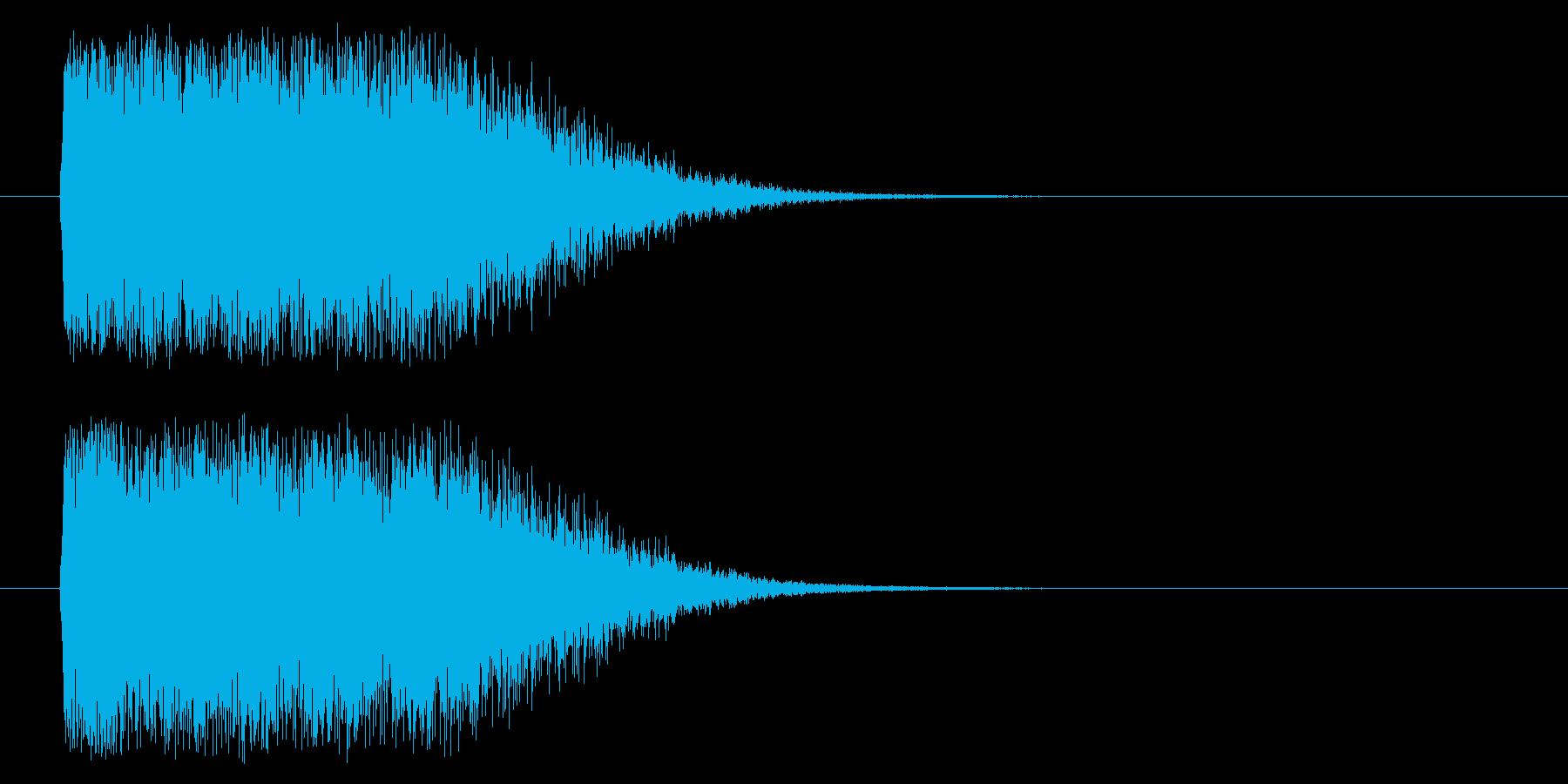 光りインパクト(m0288)の再生済みの波形