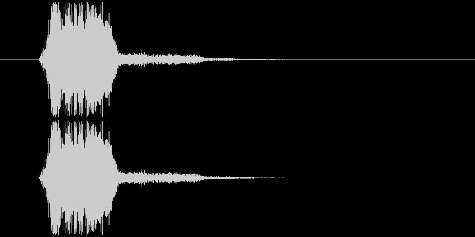 画面表示(m0281)の未再生の波形
